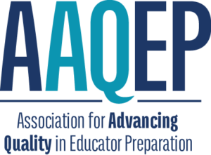 Association for Advancing Quality in Educator Preparation (AAQEP) Logo